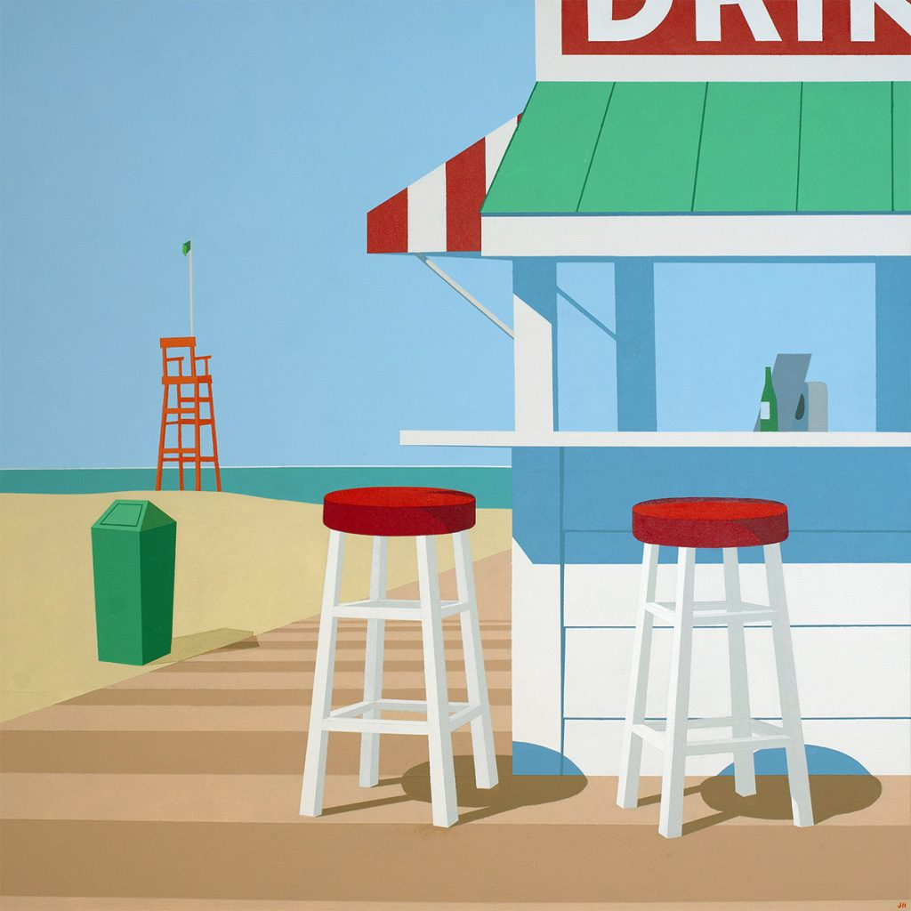 Artist Jim Houser Paints The Essentials Of Coastal Florida Towns