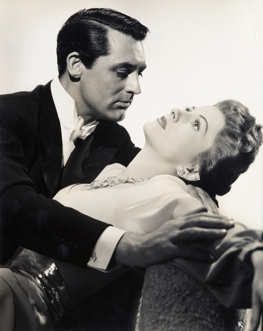 Cary Grant and Joan Fontaine, Suspicion (1941), RKO Radio Pictures, Directed by Alfred Hitchcock