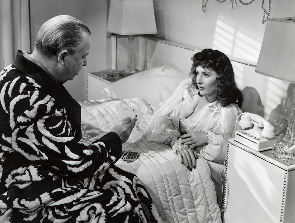 Charles Coburn and Barbara Stanwyck