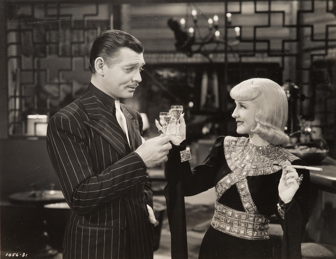 Clark Gable and Norma Shearer, Idiot's Delight (1939), Metro-Goldwyn-Mayer, Directed by Clarence Brown