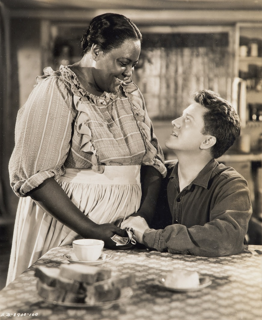 Louise Beavers and Michael O'Shea, Jack London (1943), Samuel Bronston Productions, Directed by Alfred Santell
