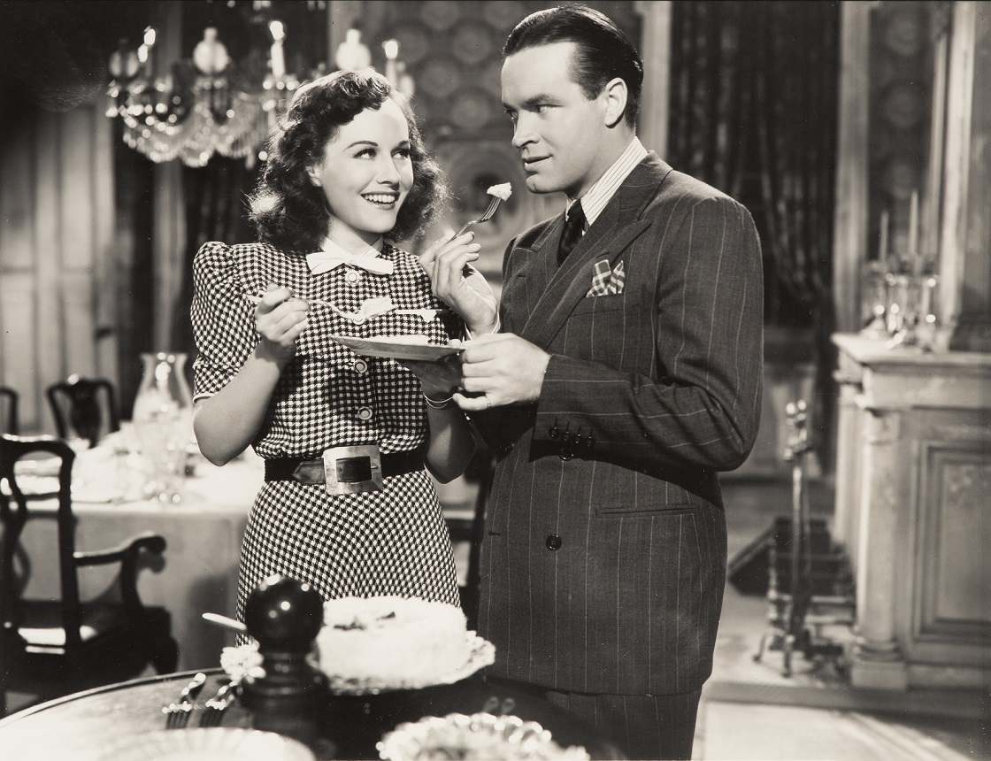 Paulette Goddard and Bob Hope, The Cat and the Canary, (1939), Paramount Pictures, Directed by Elliott Nugent