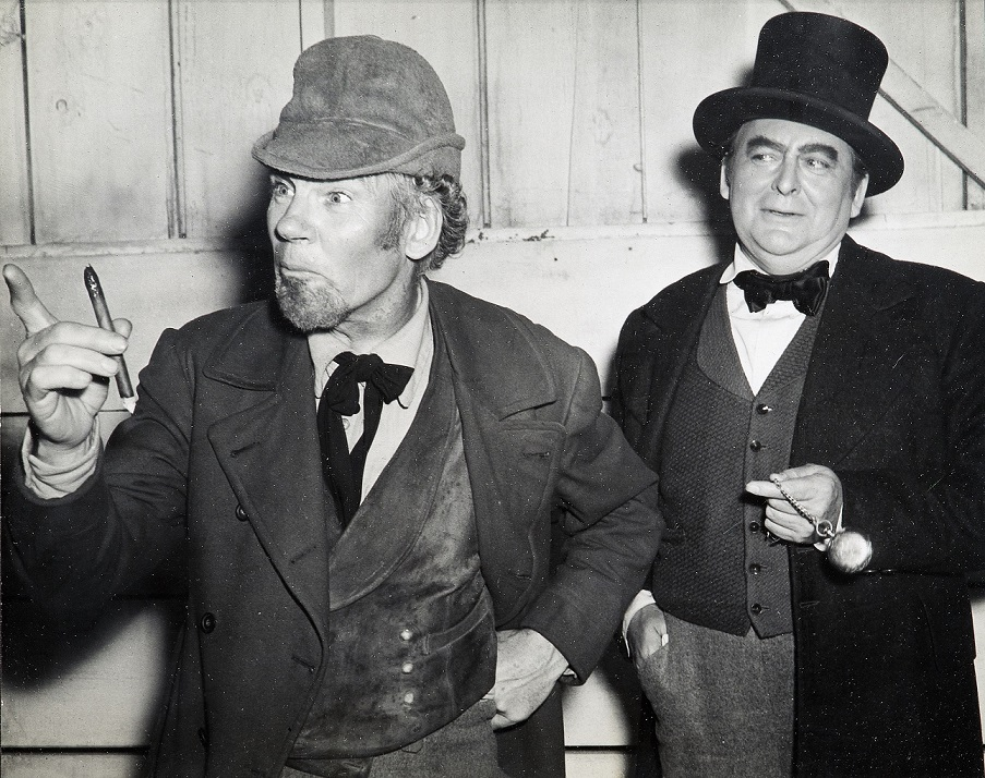 Walter Huston and Edward Arnold, The Devil and Daniel Webster (1941), William Dieterle Productions, Directed by William Dieterle